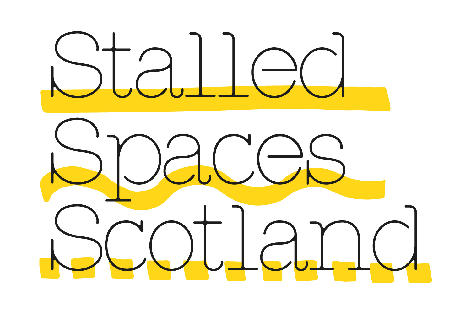 Stalled Spaces Scotland Identity
